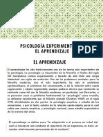 Psicología Experimental en El Aprendizaje