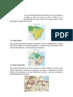 Tipos de Mapas - 2018
