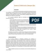 Análisis de Anuncio Publicitario