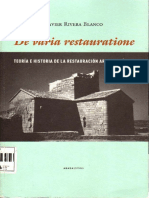 ▪⁞ Javier Rivera Blanco -TEORIA E HISTORIA DE LA RESTAURACION ARQUITECTONICA ⁞▪AF