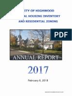 Highwood Rental Housing Inventory Report