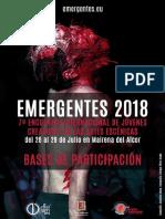 Emergentes 2018 - Bases de Participación