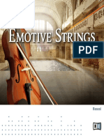 Emotive Strings Manual English