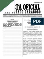 Ley de Convivencia Ciudadana Carabobo