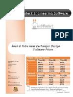Sthex Pricelist