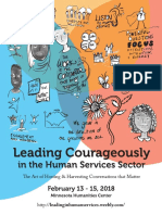 2018 Leading Courageously in Human Services AoH Workbook