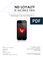 BRAND LOYALTY in the Mobile Era