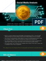 Bitcoin and social media
