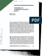 Article Govt. Budget Constraint-nov.3