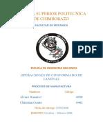 Proyecto Chapa Metalica Procesos