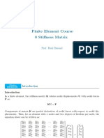 FEM - 8 Stiffness Matrix