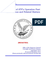 Fast and Furious Documents