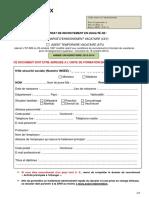 UB Contrat Recrutement 2013-2014