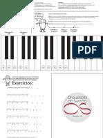 Dedilhado de Piano G10