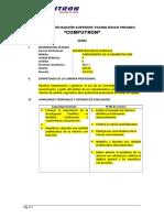 Formato de Syllabus