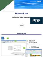 iPasolink200 Configuração padrão