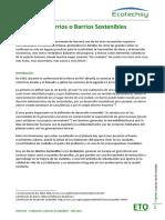 ETO - Ecobarrios y Barrios Sostenibles