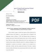 Press Release-NM LULAC Decries              Albuquerqur Journal's Cartoon vilifing Dreamer-2-8-2018.pdf