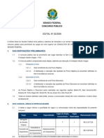 Edital022008 Advogado Do SENADO FEDERAL