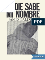 James Baldwin - Nadie sabe mi nombre.pdf