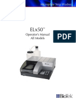 Biotek ELx50 - User Manual