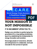 W.E.C.A.R.E. Give US a Truly Nonpartisan Energy Policy (25 emails)