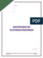 Guate Malt Equis Mos