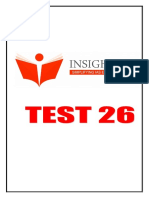 26. Insight Csp 2017 Test 26