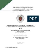 Las Redes de La Censra_el Consejo de Castilla y La Censura Libraria