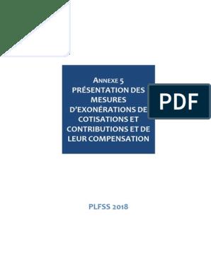 3e4509a1577612 Securite Sociale Desoneracoes Tributarias PLFSS 2018 | Sécurité ...