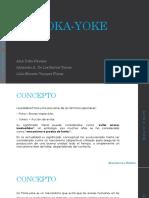 POKA YOKE Manufactura