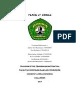 Plane of Circle - C