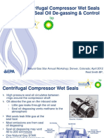 Centrifugal Compressor Wet Seals RETROFIT_Seal Oil de-gassing & Control Better Option_BP
