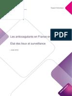 Rapport Anticoagulants Juillet2012