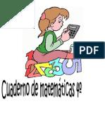 Cuaderno de Español y Matemat. 4o Grado