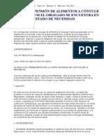 GC_26_21_08_2015 NO PROCEDE PENSIÓN DE ALIMENTOS A CÓNYUGE PERJUDICADO SI EL OBLIGADO SE ENCUENTRA EN ESTADO DE NECESIDAD.doc