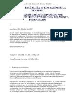 Gc_26!19!08_2015 Enfrentando Casos de Divorcio Por Separación de Hecho y Variación Del Monto Pensionario (Del Aguila Llanos)