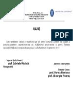 Anunt Validare Candidati Si Repartizare Pe Sali Concurs Suplinire 2017 (1)