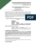 MODELO DE DEMANDA DE INDEMNIZACIÓN POR DAÑOS Y PERJUICIOS AL TRABAJADOR PÚBLICO - Autor José María Pacori Cari (1).docx
