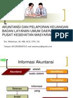 Paparan Laporan Keuangan BLUD PKM