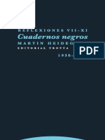 Heidegger CN Reflex VII XI. (1938 1939)