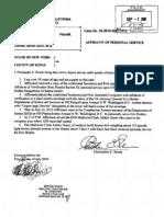 BARNETT v DUNN (STATE COURT - CALI) - Affidavit of Personal Service - 2 - DefaultDMS