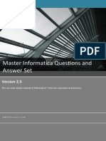Informatica Question Answer Set