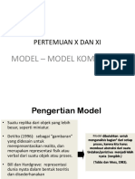 PERTEMUAN 10 Dan 11 Model-model Kom