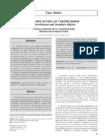 Peritonitis terciaria por Candida Famata