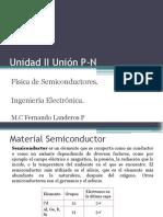 Unidad II Unión P-N