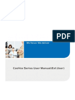 CooVox Series User ManualExt.user V1.0.5 1