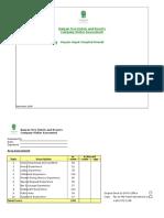 CVA Checklist RHH