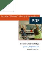 Escuelas Eficaces Ensayo