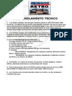 Reglamento Tecnico Tc2000 Retro